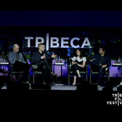 Gabriel Younes, Ben Franklin, Anthony Melton, Kate Krantz, Eli Roth and Jack Davis (L2R) © Tribeca