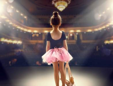 Children finding there dance feet