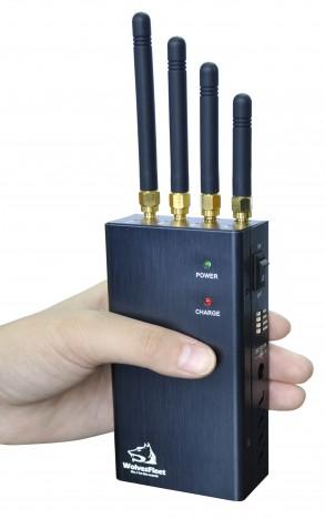 5 Frequências Diferentes Bloqueador de GPS Portatil