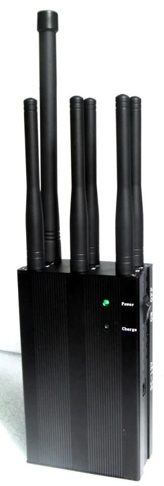 6 Antenas Bloqueador Sinal de Celular Lojack 1