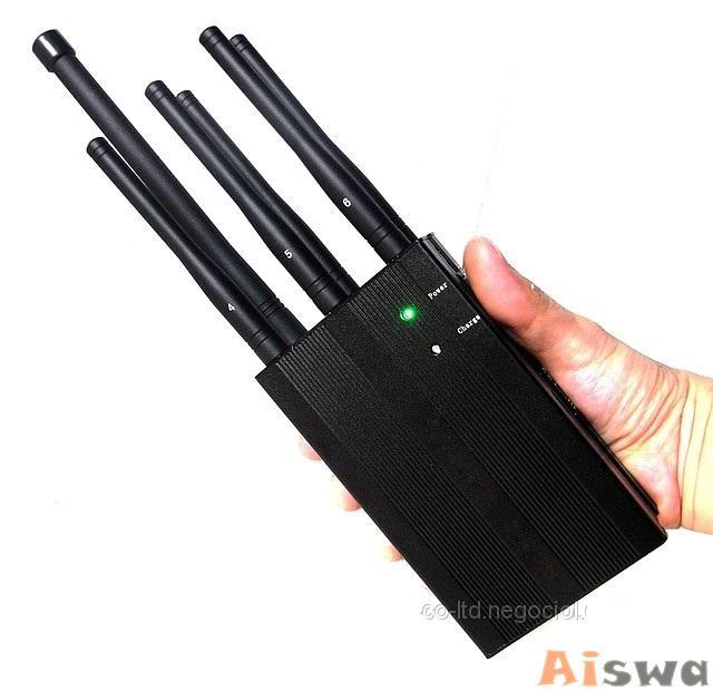 6 Antenas Bloqueia de Bloqueador de GPS Celular ,gsm Bluetooth e Lojack 4