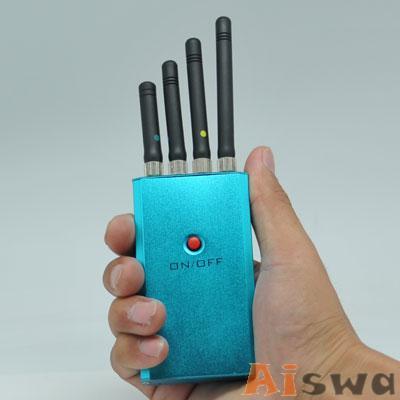 Bloqueador de Celular WIFI GSM CDMA PHS 1