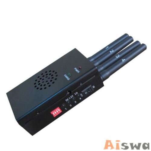 Bloqueador de GPS Profissional GPS - GSM - 3G -GPRS - 4