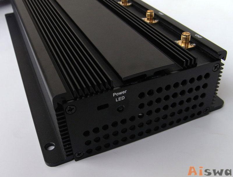 Profissional 6 Antenas com Cooler de Bloqueador De Sinal Lojack - GPS - GSM 3