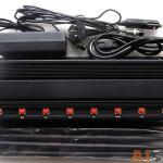 Profissional 8 antenas Refrigerado de Bloqueador de UHF VHF Celular GSM-GPS-3G-UHF-VHF-Lojack 4