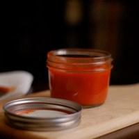 Hot, hot, hot: garlic habañero hot sauce