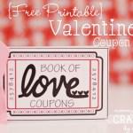 Free Valentine Coupon Book