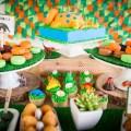 dinosaur themed dessert bar-perfect for a little boys birthday!