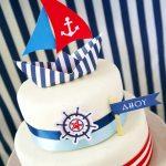 Ships Ahoy! A Boys Nautical Party!