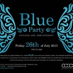 Blue Party Invitation