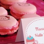 Hello Kitty Macaroons for a sweet 16th birthday