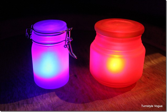 DIY Neon Glow jars for a glow in the dark party! See More Glow In The Dark Party Ideas On B. Lovely Events
