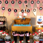 Pirate Party Birthday-love these desserts