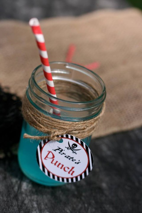 Pirate Punch Pirate party drinks