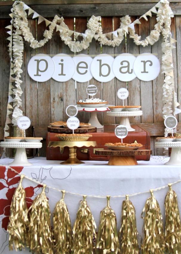 Adorable Pie bar