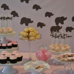 Darling safari themed dessert bar