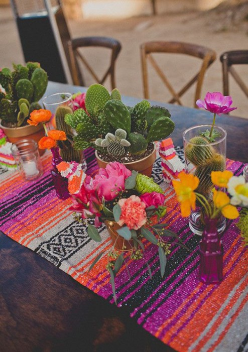 Mexican Wedding tablescape