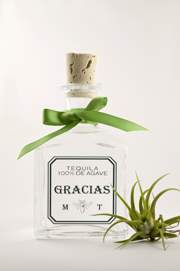 Mexican wedding tequila favors