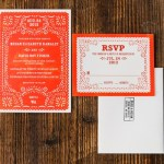 Mexican wedding themed invitations