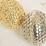 Thumbtack Silver And Gold Easter Eggs!