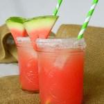 Watermelon Margaritas-Yum!