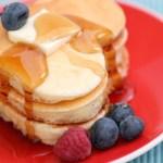 Heart Shaped Breakfast For Mom!