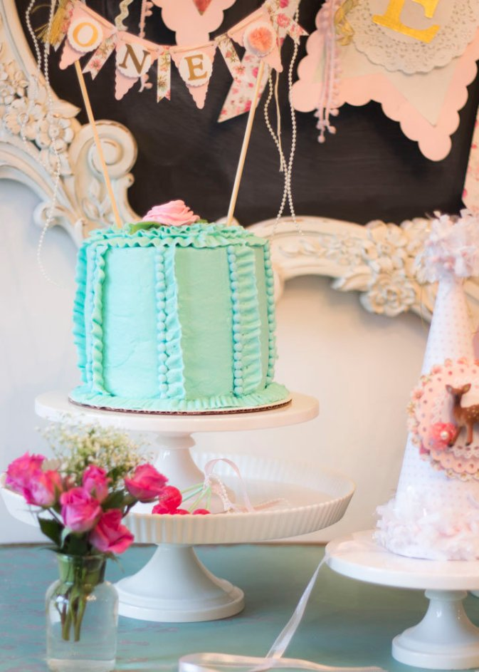Shabby Chic First Birthday B Lovely Events