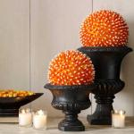 Candy Corn Centerpieces