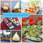 Sailboat Foods For Columbus Day!