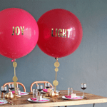 New trend-Balloons With Words!