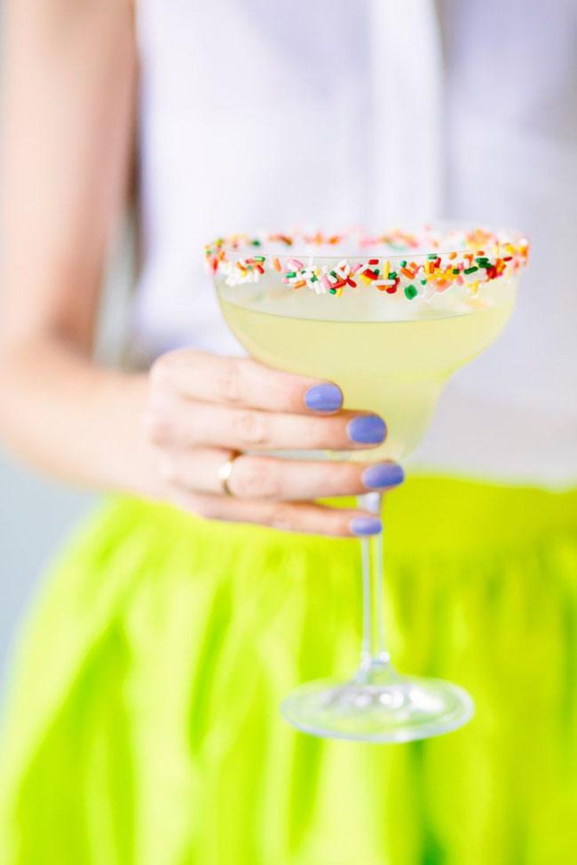 Sprinkle Rims & Sprinkle Drinks, OH My!