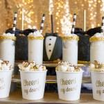 Black and gold Oscar Party- Dessert Treats
