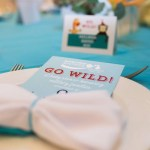 Go Wild Baby Shower place settings- Operation Shower- See All The Photos On B Lovely Events!