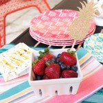 Backyard Summer BBQ- Always Love Fresh Berries In The Summer - B. Lovely Events