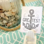 Father's Day Nautical Pineapple Tablescape (23)
