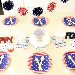 Fun Stars And Stripes 4th of July Tablescape