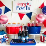 Fun 4th Of July Drink Bar - B. Lovely Events