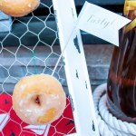 Love these cute little donuts for a BBQ - B. Lovely Events