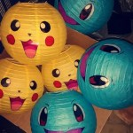 The Pokemon Lanterns are too cute! - See more cute Pokemon Party Ideas on B. Lovely Events