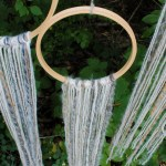 DIY Yarn Dreamcatcher-See how to make them on B. Lovely Events