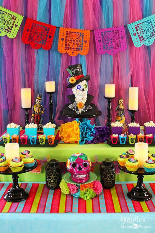 13 Lovely Dia De Los Muertos Party Ideas B Lovely Events