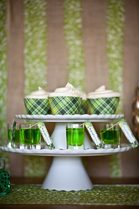 St. Patrick's Day dessert bar