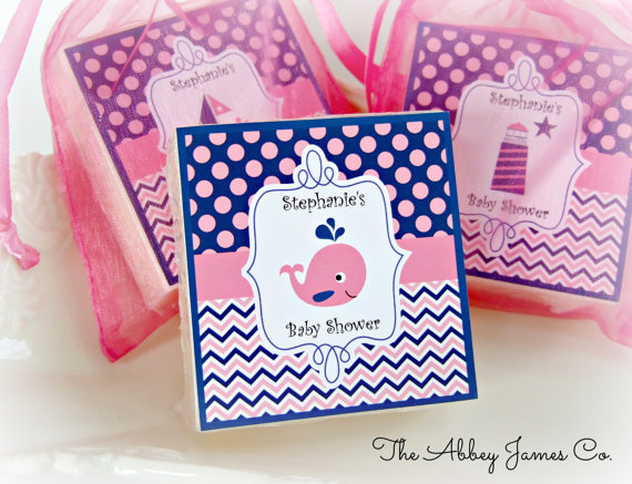 nautical girls party favors