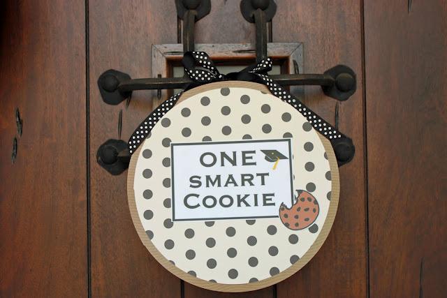 Smart Cookie Graduation Party door Wreath