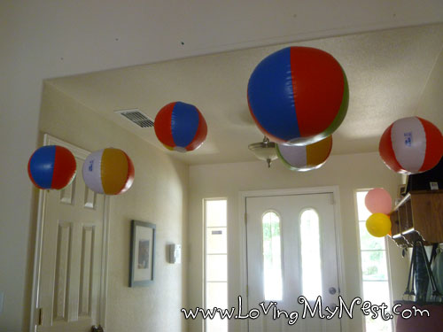 Beach Ball Hanging Decorations