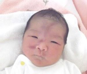 2016年7月1日生まれ 心愛ちゃん