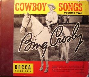 Bing Crosby + Horse