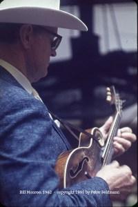 Bill Monroe, Monterey, CA, 1963.