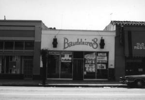 Baudalaire's on lower State Street.