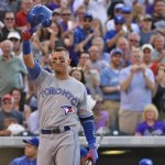 GIF: Troy Tulowitzki Returns to Colorado and Salutes the Rockies Fans